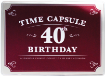 40th Birthday Time Capsule